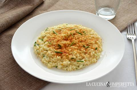 Risotto con la bottarga
