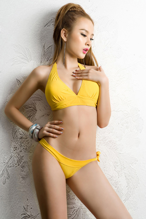 Angelia Phuong Trinh Sexy in Bikini Collection