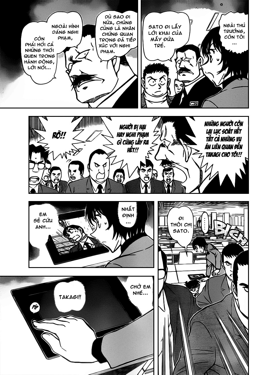 Thám Tử Lừng Danh Conan - Chapter 805 - Pic 7