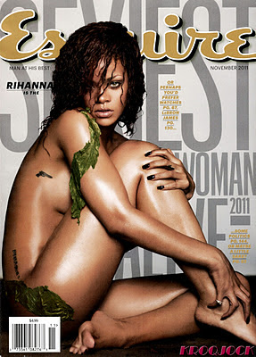 Rihanna, senzuala in Esquire