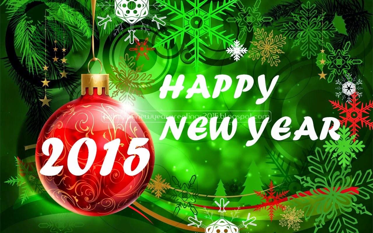 Gambar Kartu Selamat Tahun Baru 2015 Ucapan Indah Happy New Year