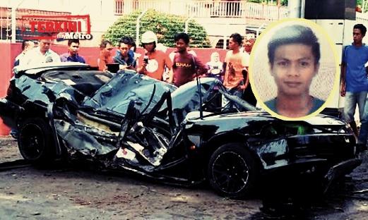 Rozaimi Abdul Rahman kemalangan kereta