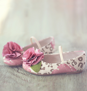 Joyfolie leopard rose kid mary janes