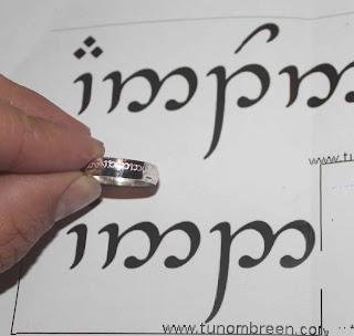 imagenes de anillo elfico