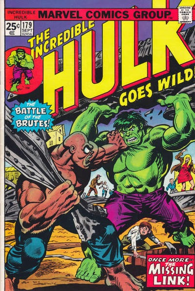 Incredible Hulk #179, the Missing Link