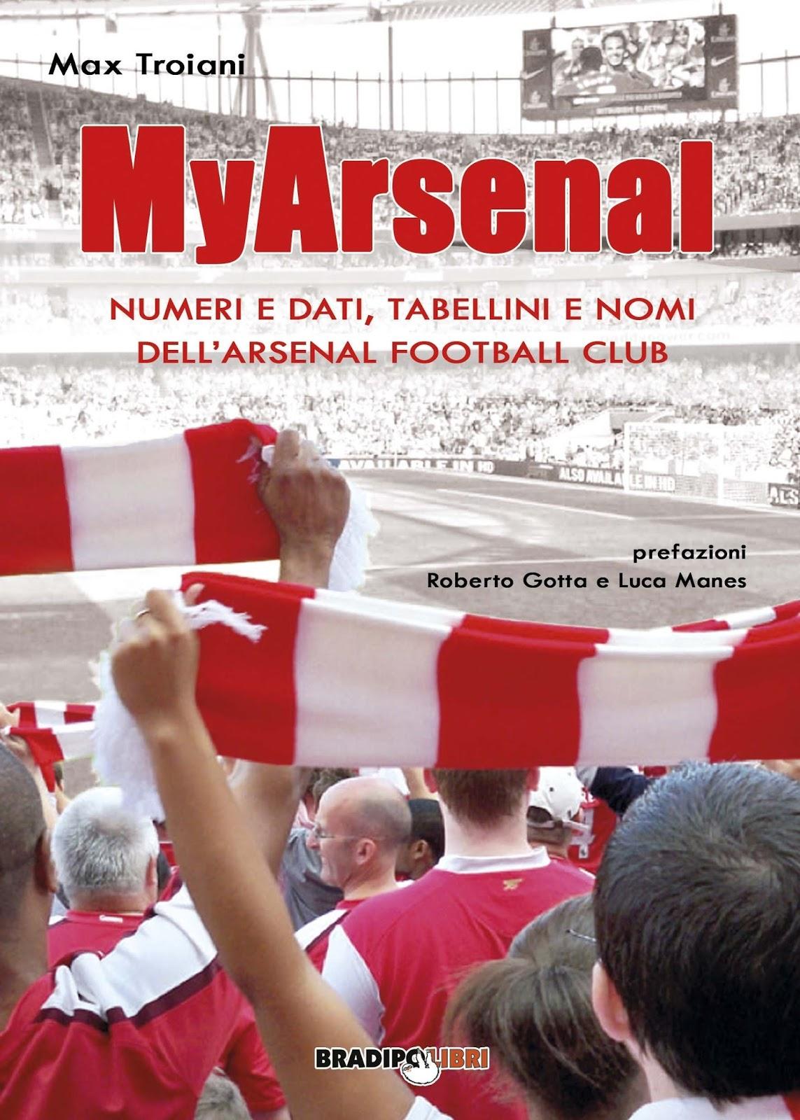 "il libro ""MyArsenal"""