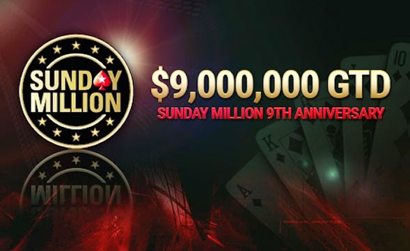 9º aniversario del Sunday Million
