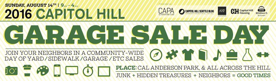 Capitol Hill Community Garage Sale Day