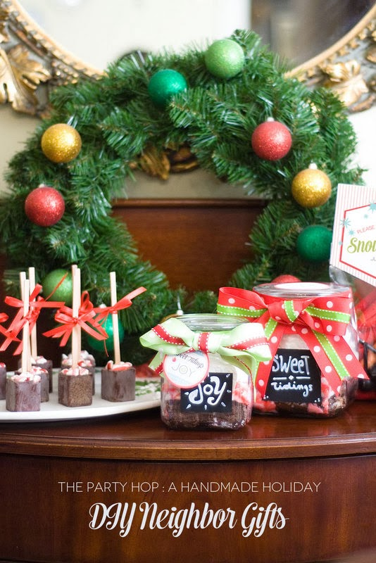 The Party Hop: Handmade Holiday DIY Neighbor Gifts