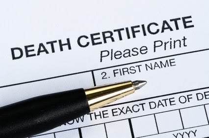 Nevada Death Certificate