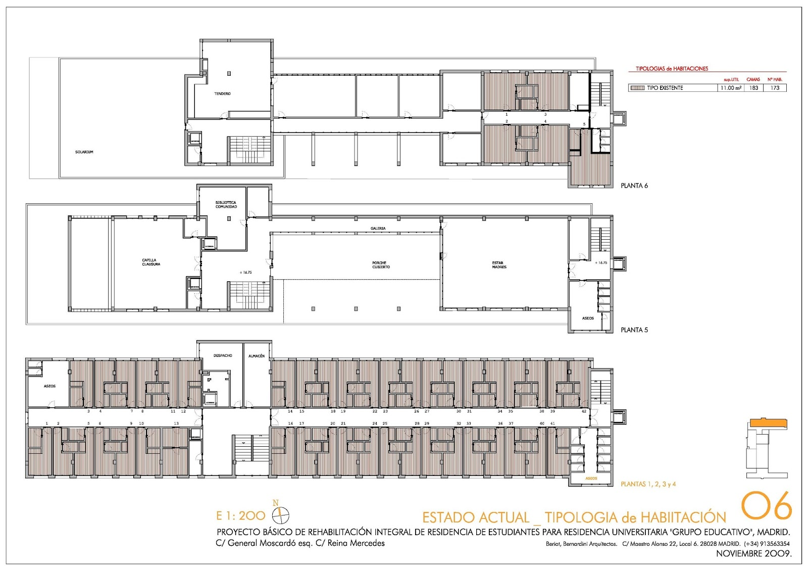 Beriot bernardini arquitectos masterhome residencia de for Residencia para estudiantes