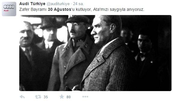 audi-turkiye-zafer-bayrami-sosyal-medya-paylasimi