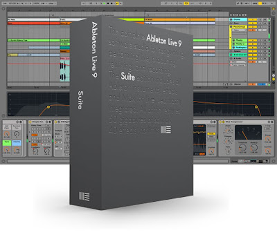 Ableton Live 9 Suite DVD Capa