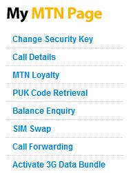 how to use mtn security number