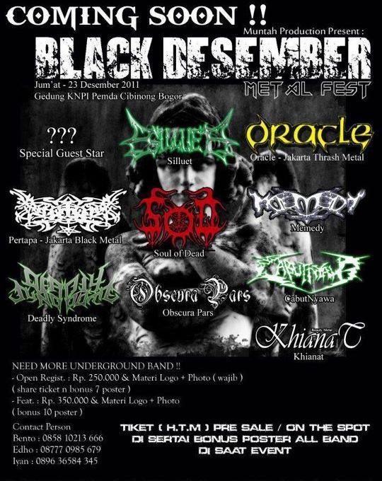 BLACK DESEMBER METAL FEST