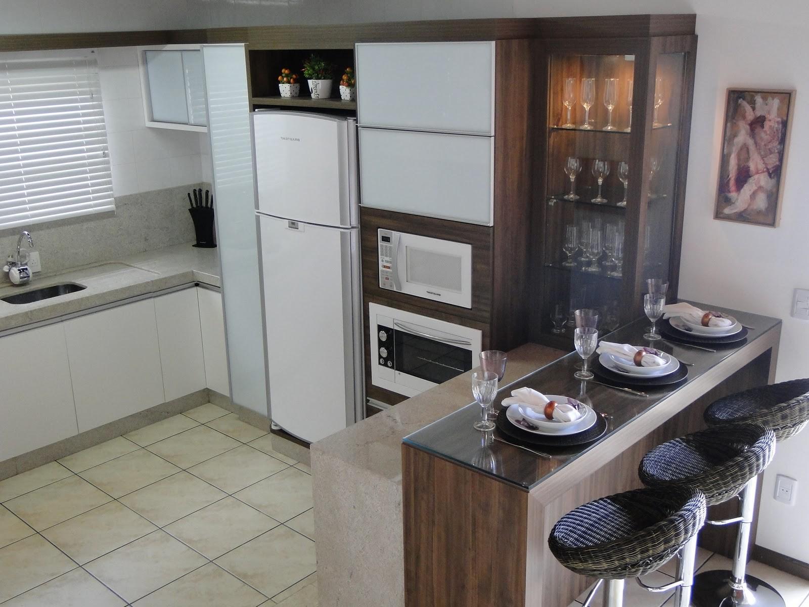 Amo Meu Ape: Sala e cozinha conjugadas #5E483B 1600 1200