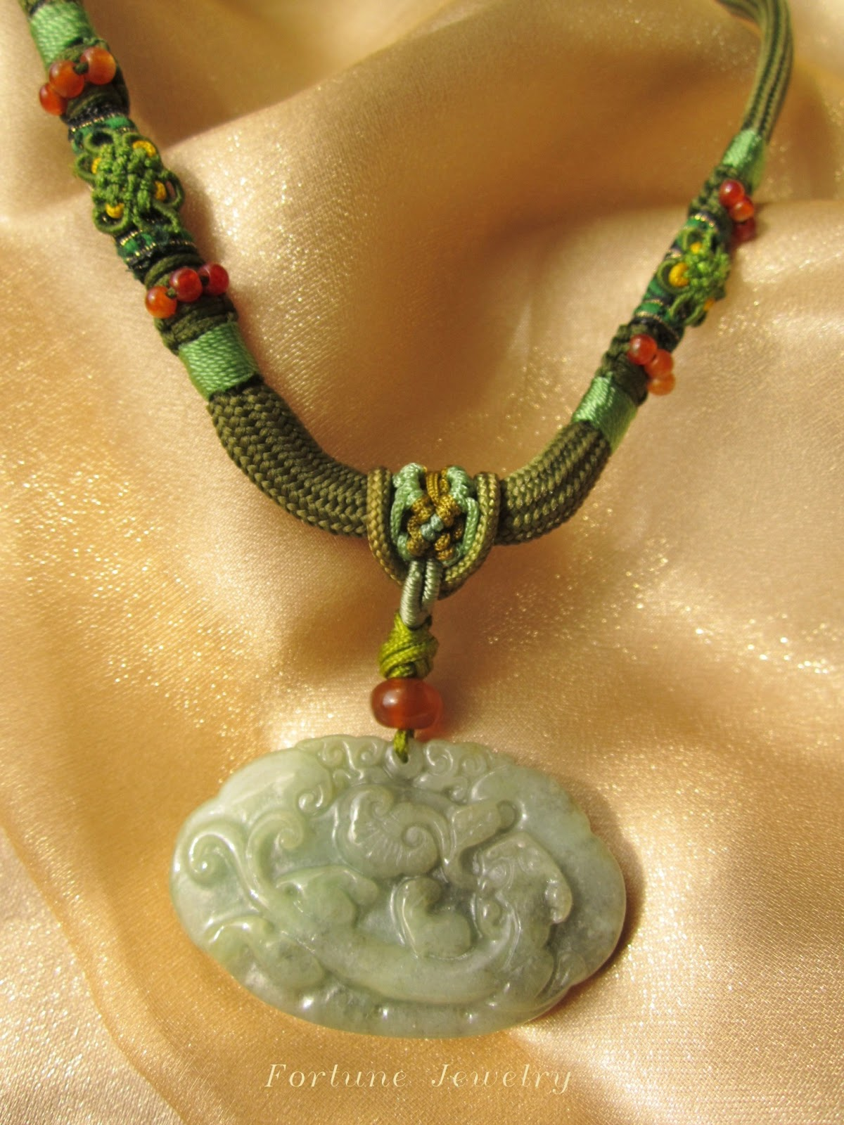fortune jewelry healing ru yi tiger carved