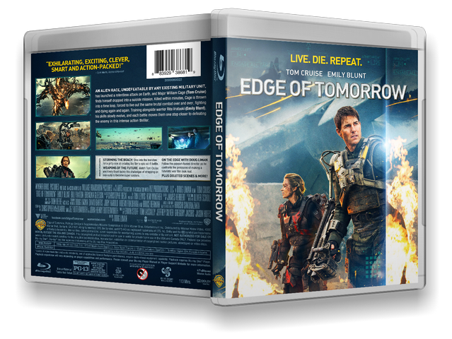 Capa Bluray Edge Of Tomorrow