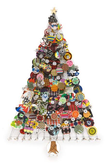 Decora y disena 7 rboles de navidad dise o art stico for Arbol de navidad pequeno