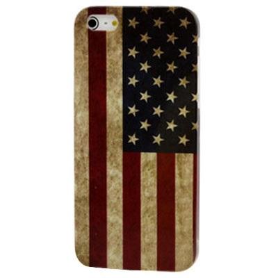 Skal till iPhone 5 Usa Flaggan Retro - jButiken