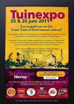 Onze 1ste tuinexpo 25 - 26 juni 2011