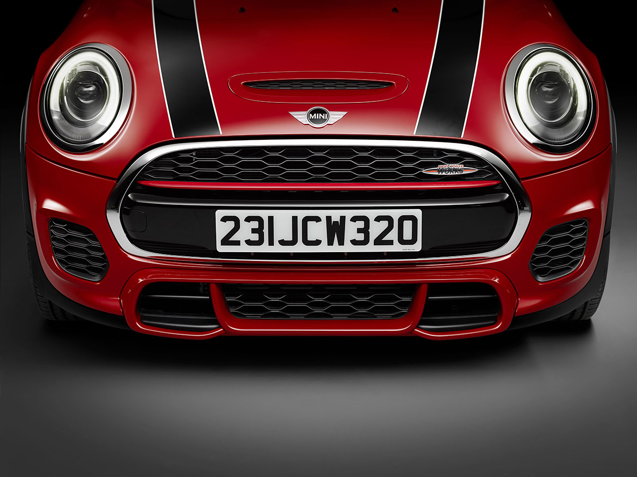 Mini John Cooper Works Hatch front
