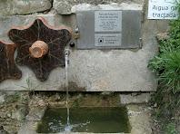 Detall de la Font del Puig