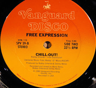 FREE EXPRESSION  -  Chill-Out 1980