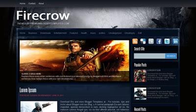 Firecrow Blogger Templates