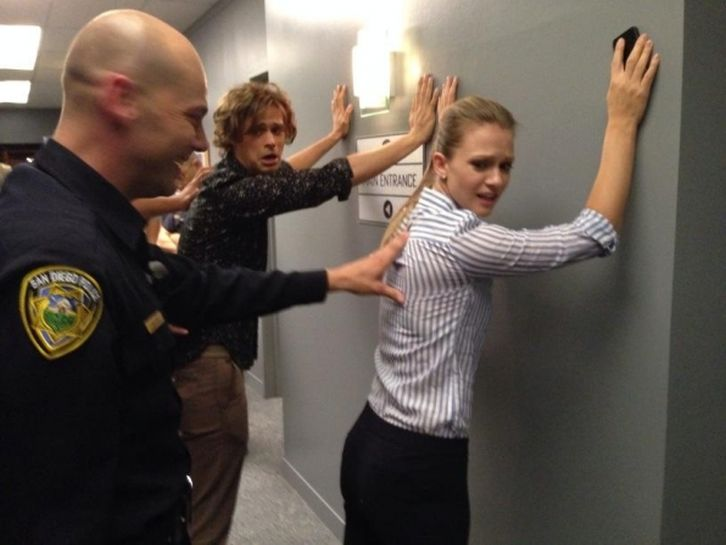 Criminal Minds - Season 10 - Official BTS Photos
