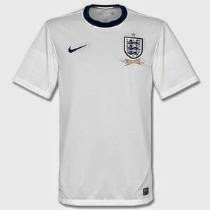 England Home Jersey 2013  08 2014-M