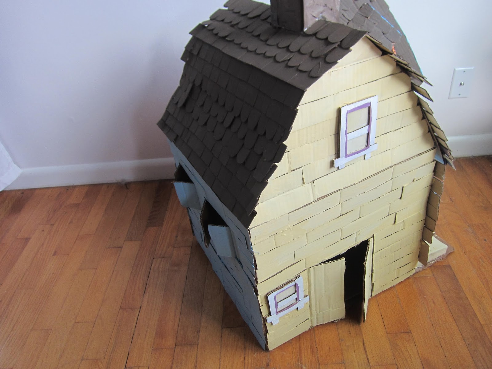 on my honor peanut purls and a cat house from up. Black Bedroom Furniture Sets. Home Design Ideas