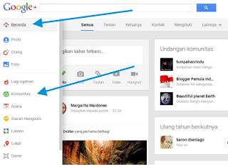 Cara Membuat Komunitas Google Plus 1