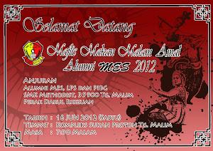 Majlis Makan Malam Amal Alumni MES 2012