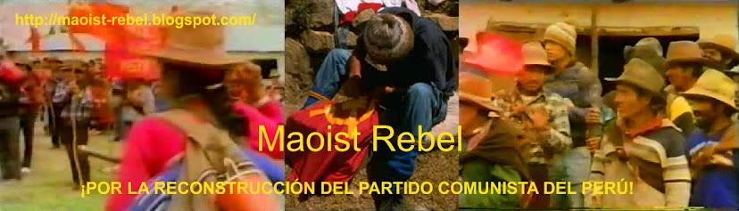 Maoist Rebel