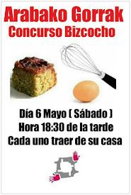 CONCURSO BIZCOCHO // SABADO, 6 MAYO