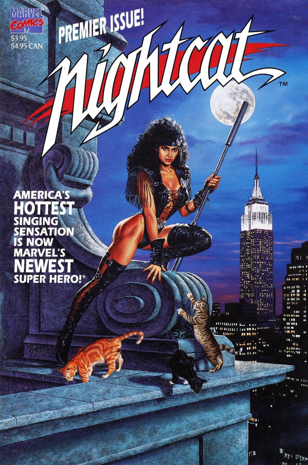 Starlogged Geek Media Again 1991 Nightcat One Shot