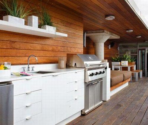 Letn kuchy a detsk izba for Zen style kitchen designs