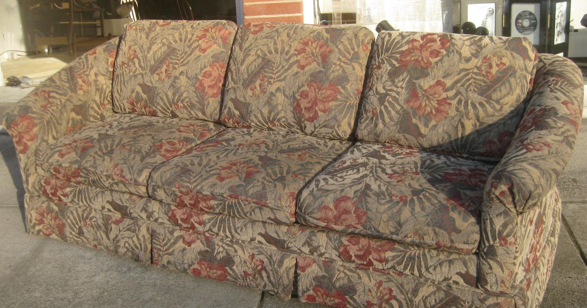 Uhuru Furniture Amp Collectibles Sold Fl Print Sofa 80 Flowered Couches