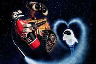 Wall-E e Eva