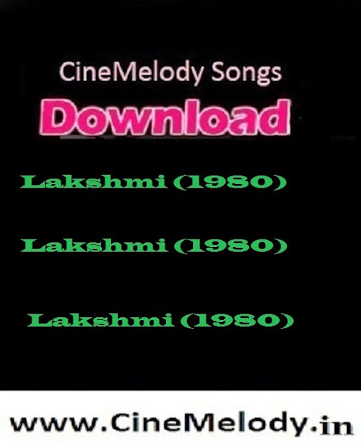 Lakshmi Telugu Mp3 Songs Free  Download  1980