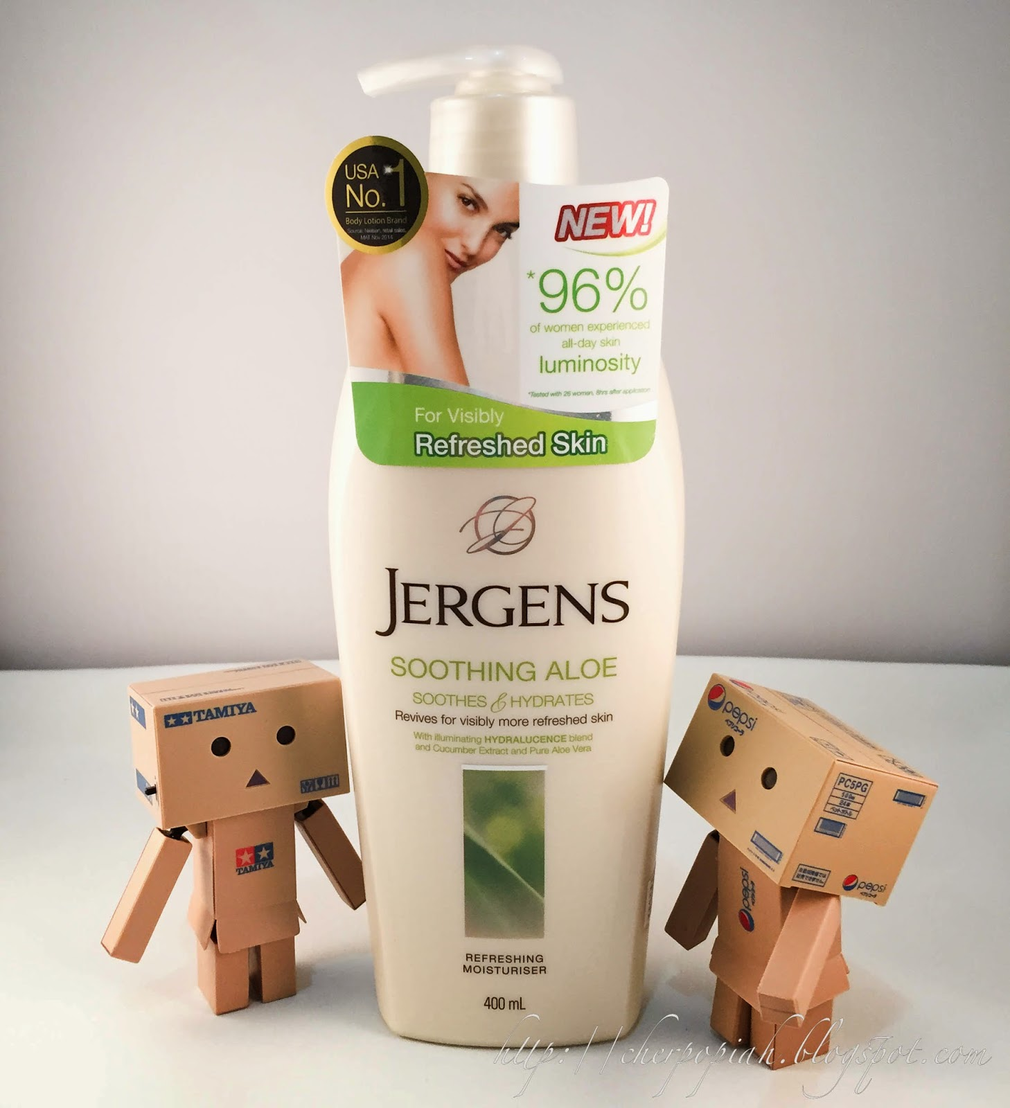 jergens moisturizing soothing aloe lotion