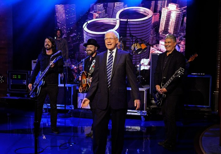 foo fighters - zak brown - david letterman