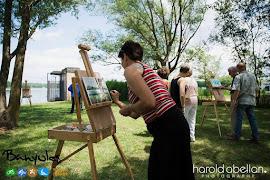 Visita/taller artístic a l'estany de Banyoles