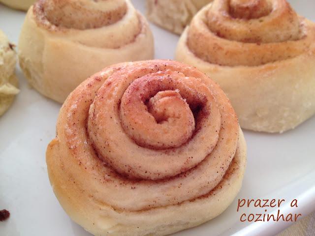 enroladinhos doces - prazer a cozinhar
