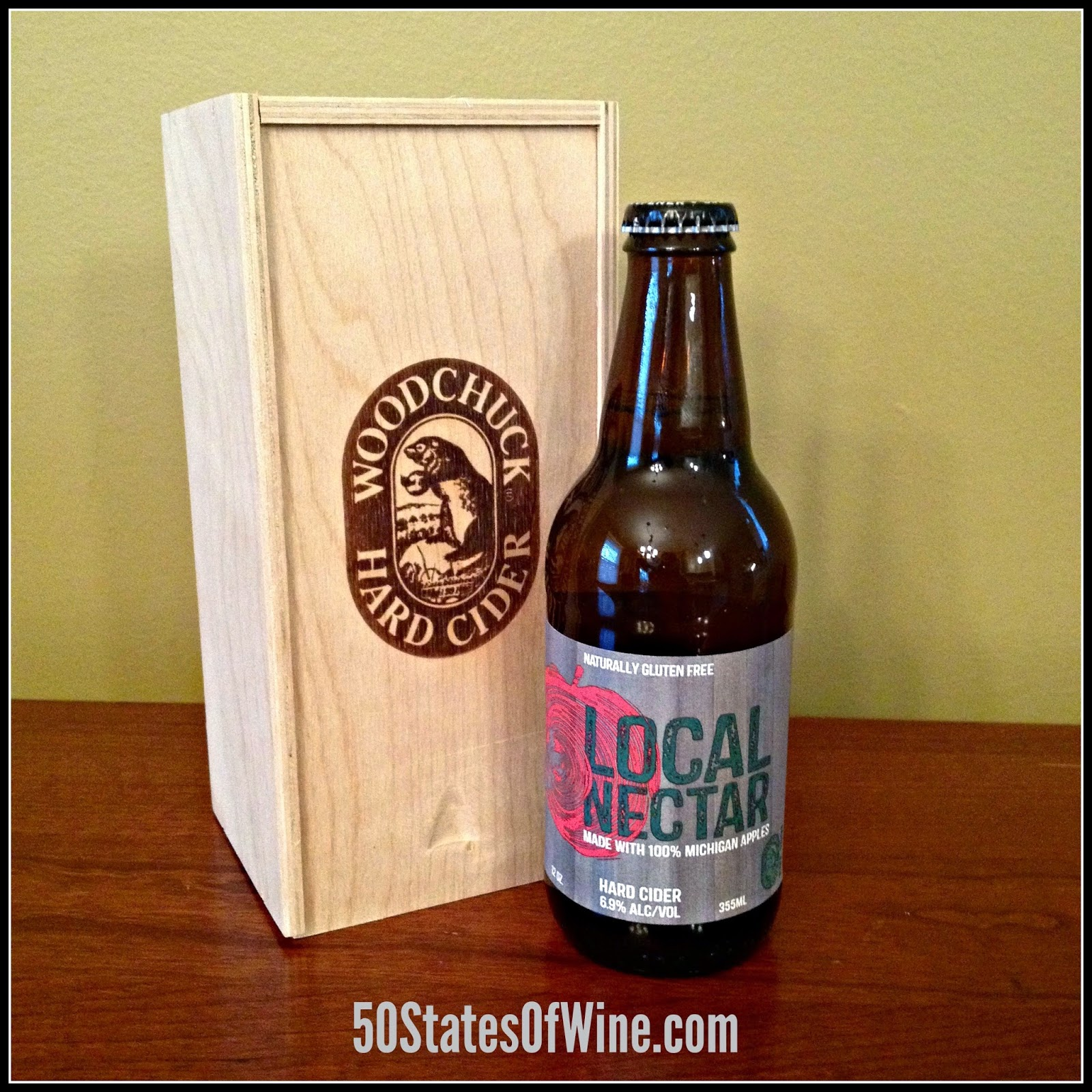 Woodchuck's Michigan Local Nectar Cider