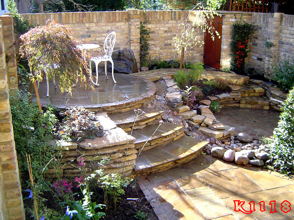 Landscaping ideas for diy landscaping for Design of pond garden