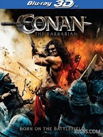 Download Conan the Barbarian 3D (2011) BluRay 720p Half SBS 800MB Ganool