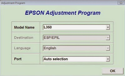 reset printer epson l350