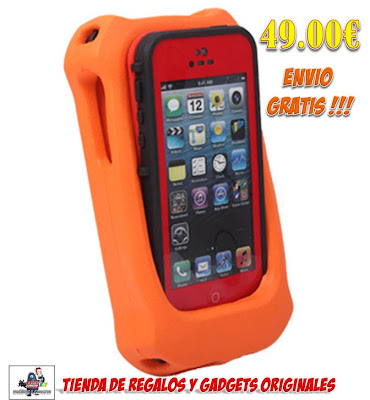 carcasa impermeable, acuatica y sumergible para iPhone
